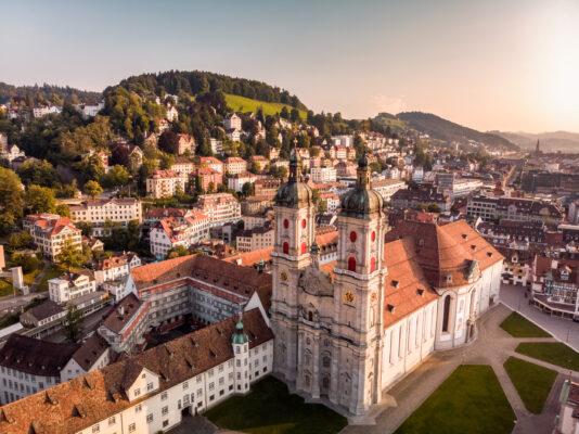 Schweiz Bodensee St. Gallen