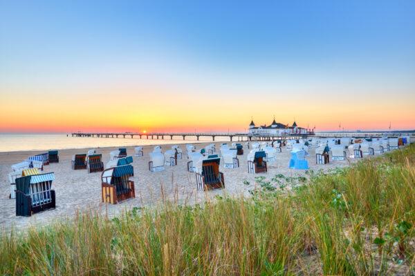 Ostsee Urlaub: Seebrücke Ahlbeck