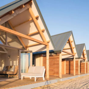 Niederlande übers Wochenende: 4 Tage im eigenen Beach-House an der Nordsee mit Meerblick ab 118€ p.P.