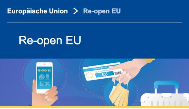 Re-open EU Logo