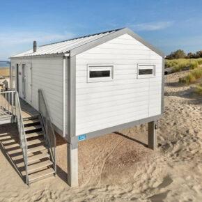 Strandvilla in der Niederlande: 5 Tage Ferienhaus in Zeeland direkt am Meer ab 81€ p.P.