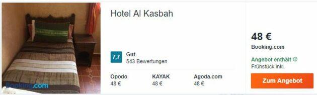 Al Kasbah Hotel Fes