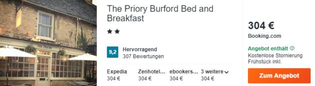 bibury hotel schnaeppchen