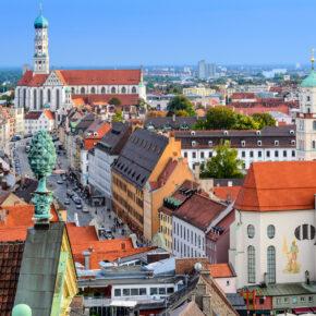 Wochenende in Augsburg: 2 Tage im 4* Bio-Hotel mit Frühstück nur 62€