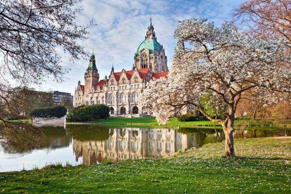 Deutschland Hannover Rathaus