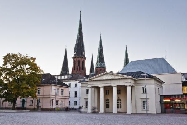 Oldenburg Schlossplatz Lamberti