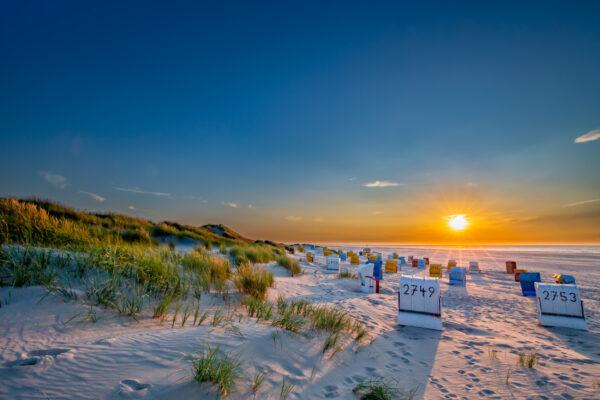 Deutschland Ostfriesland Strand