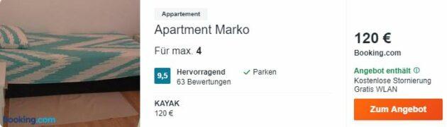 Kroatien Apartment