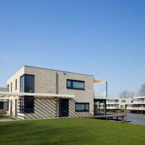 Wasser-Villa in den Niederlanden: 5 Tage Zeeland in stylischem Ferienhaus am Wasser ab 88€ p.P.