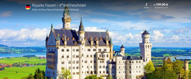 Schloss Neuschwanstein Deal