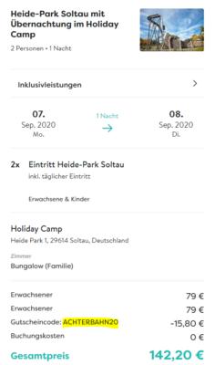 2 Tage Heide Park