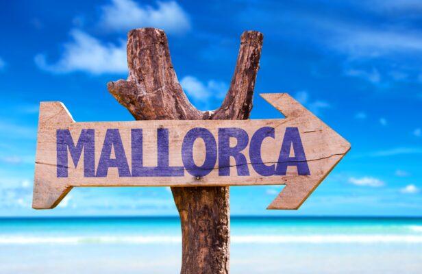 Spanien Mallorca Schild