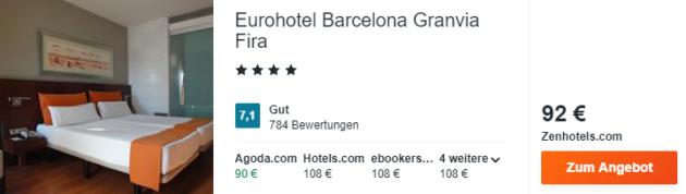 3 Tage Barcelona