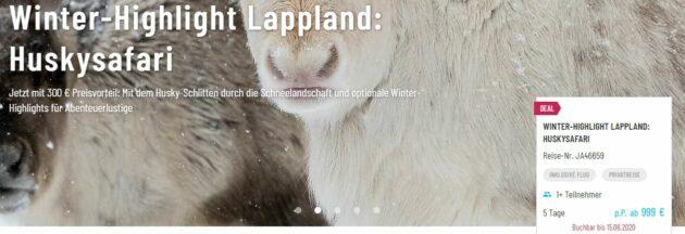 5 Tage Lappland