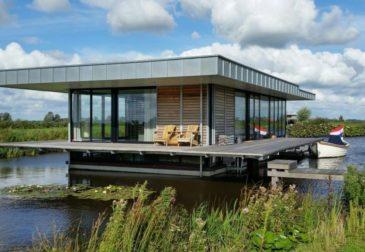 Wasser-Villa direkt im See: 8 Tage Luxus in den Niederlanden mit Sauna ab 195€ p.P.