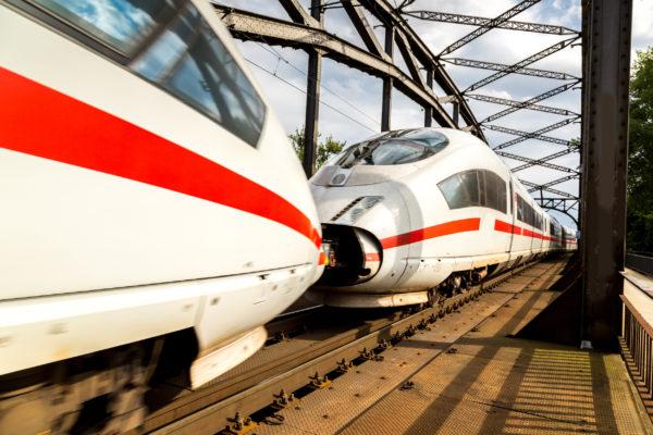 Deutsche Bahn Ice Brücke