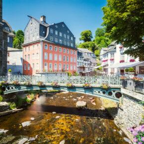Urlaub in der Eifel: 2 Tage Monschau im 3*Hotel mit Frühstück nur 34€