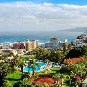 Kanaren: 6 Tage Teneriffa im 4* Hotel mit Halbpension & Flug nur 305€