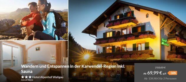 Karwendel Hotelgutschein