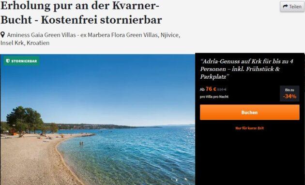 4 Tage Kroatien