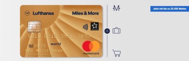 Miles More Gold Card Aktion