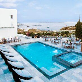Luxus pur: 5 Tage Mykonos im TOP 4* Hotel mit Frühstück, Flug & Transfers nur 369€