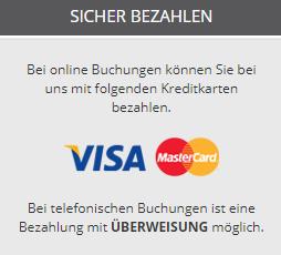 Reisefux Bezahlmöglichkeiten