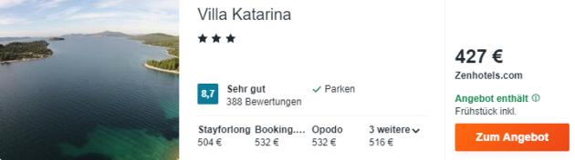 villa katarina kroatien