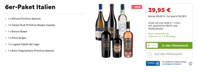 Weinfreunde Italien