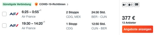 14 Tage Cancun Flug