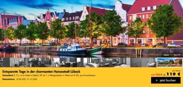 3 Tage Lübeck