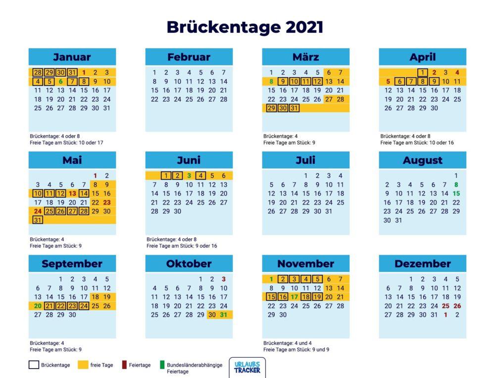 Brückentage 2021