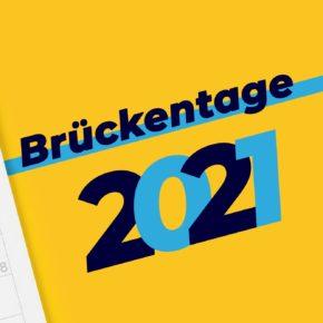 Brückentage 2021: So holt Ihr die meisten Urlaubstage raus