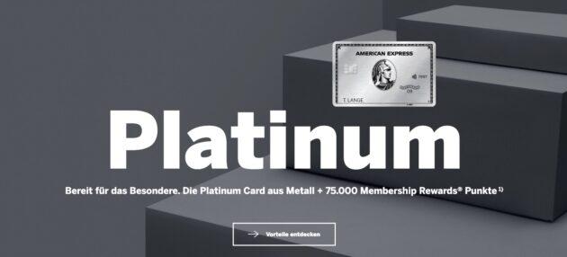 Amex Platinum Aktion