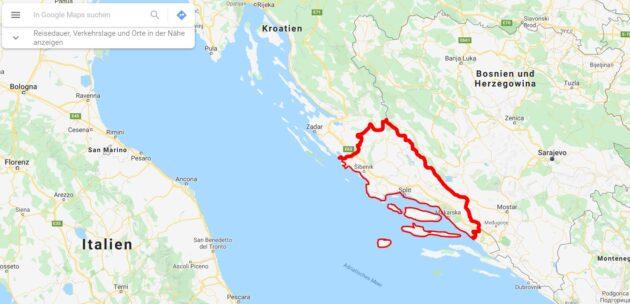 Corona in Kroatien