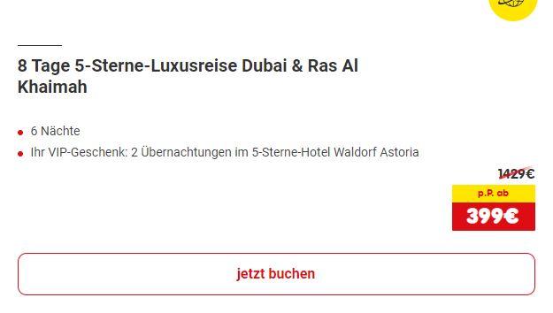 Dubai 8 Tage