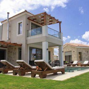 Luxus auf Kreta: 8 Tage in stylischer Ferienvilla mit Pool in Strandnähe ab 222€ p.P.