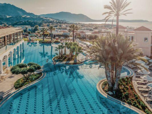 Lindos Imperial resort & Spa Pool Rhodos