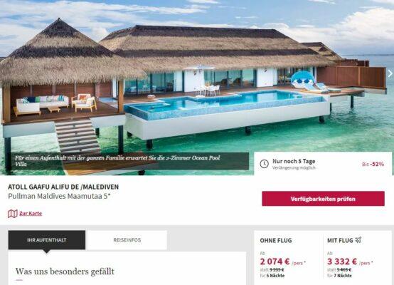 Malediven 9 Tage