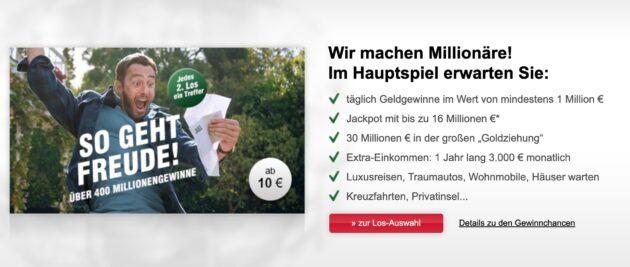 NKL Lotterie Schnäppchen