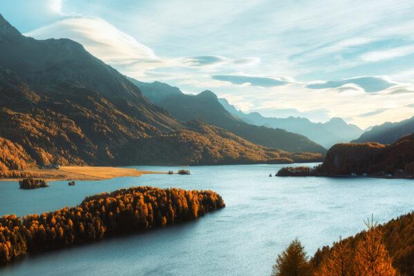 Schweiz Silsersee