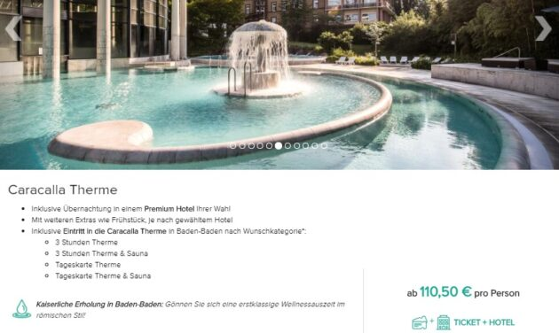 2 Tage Caracalla Therme