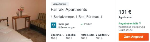 8 Tage Korfu Hotel