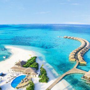 Luxusurlaub Malediven: 10 Tage in TOP 5* Villa mit All Inclusive, Flug & Wasserflugzeug-Transfer nur 2.018€