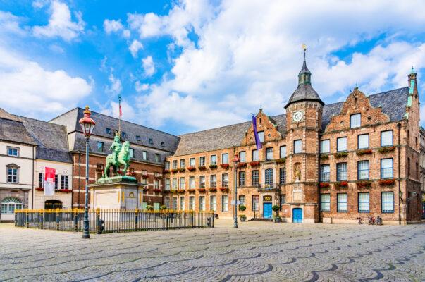 Deutschland Düsseldorf Marktplatz