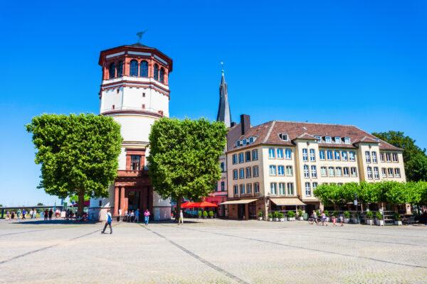 Deutschland Düsseldorf Schlossturm