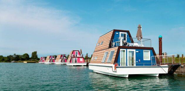 Italien Hausboot