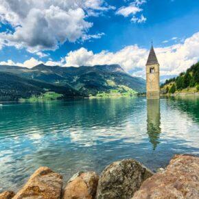 Südtirol: 3 Tage Auszeit am Reschensee im 4* Hotel inkl. Halbpension ab 189€