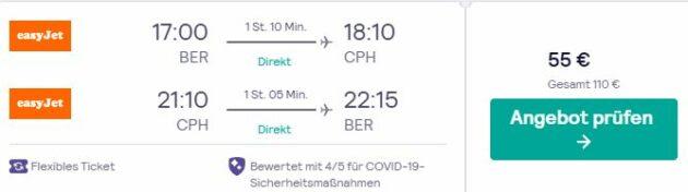 Kopenhagen Flug