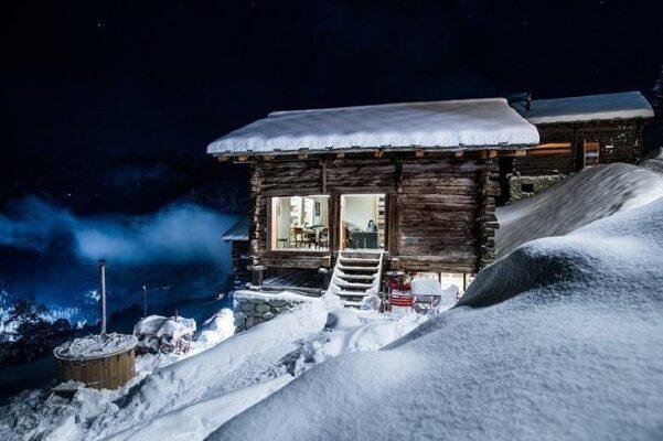 Schweiz Ferienhaus Chapelle La Forclaz